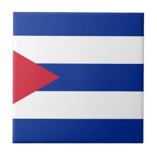 Cuban Flag - Bandera Cubana - Flag of Cuba Tile