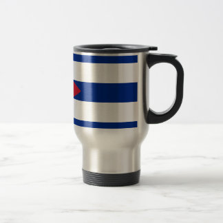 Cuban Flag - Bandera Cubana - Flag of Cuba Travel Mug