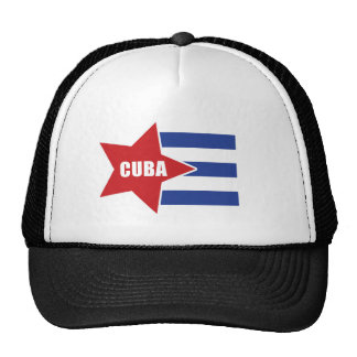 Cuban Flag Hat