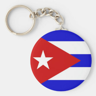 Cuban Flag Keychain
