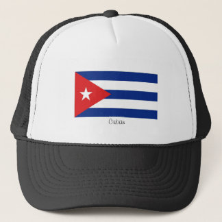 Cuban flag souvenir hat
