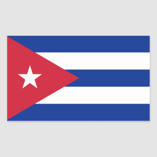 Cuban Flag Sticker