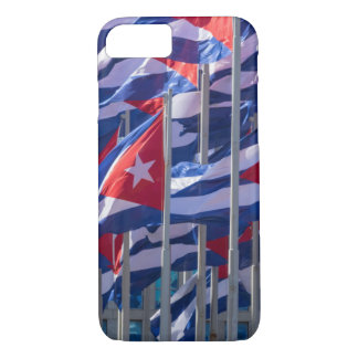 Cuban flags, Havana, Cuba iPhone 8/7 Case