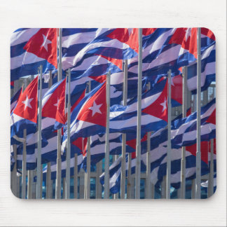 Cuban flags, Havana, Cuba Mouse Pad