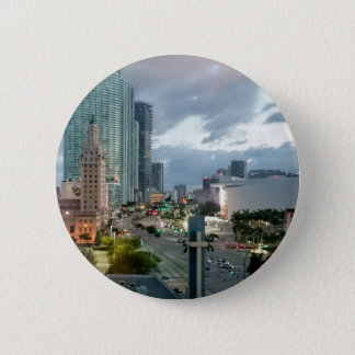 Cuban Freedom Tower in Miami 2 2 Inch Round Button