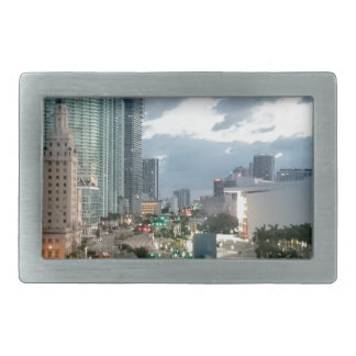 Cuban Freedom Tower in Miami 2 Belt Buckles