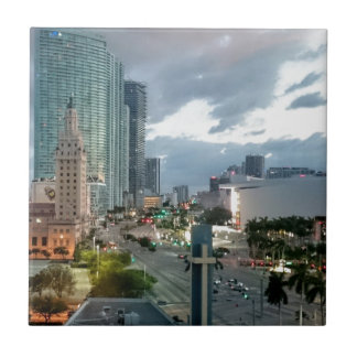 Cuban Freedom Tower in Miami 2 Ceramic Tiles