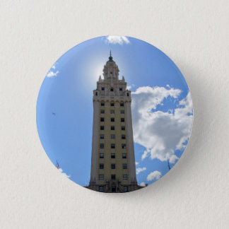 Cuban Freedom Tower in Miami 2 Inch Round Button