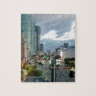 Cuban Freedom Tower in Miami 2 Jigsaw Puzzle