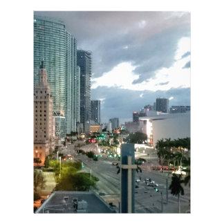 Cuban Freedom Tower in Miami 2 Letterhead Design