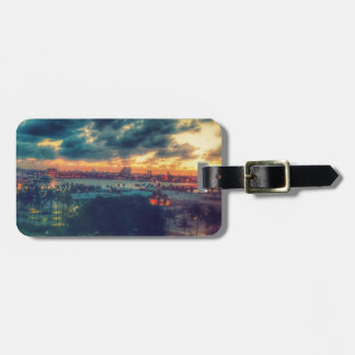 Cuban Freedom Tower in Miami 3 Luggage Tag