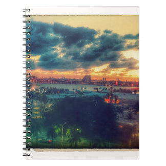 Cuban Freedom Tower in Miami 3 Notebooks
