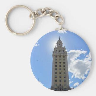 Cuban Freedom Tower in Miami 4 Keychain