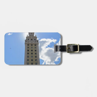 Cuban Freedom Tower in Miami 4 Luggage Tag