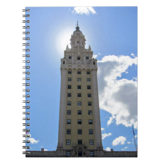Cuban Freedom Tower in Miami 4 Spiral Notebook