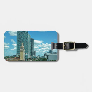 Cuban Freedom Tower in Miami 5 Bag Tag
