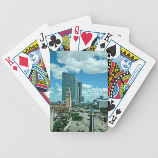 Cuban Freedom Tower in Miami 5 Bicycle Playing Cards