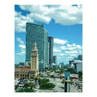 Cuban Freedom Tower in Miami 5 Letterhead