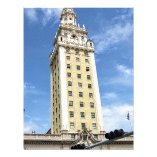 Cuban Freedom Tower in Miami 6 Letterhead