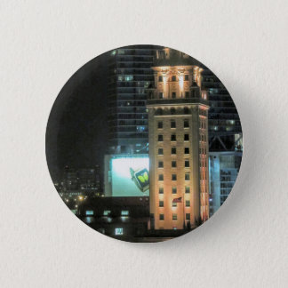 Cuban Freedom Tower in Miami 7 2 Inch Round Button