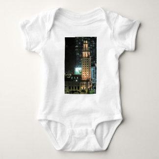 Cuban Freedom Tower in Miami 7 Baby Bodysuit