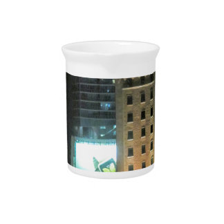 Cuban Freedom Tower in Miami 7 Beverage Pitcher