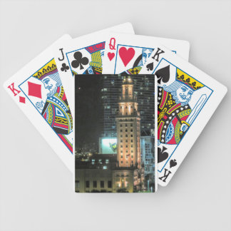 Cuban Freedom Tower in Miami 7 Bicycle Playing Cards