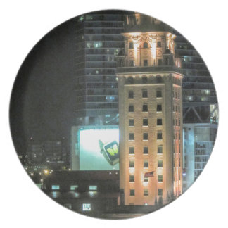Cuban Freedom Tower in Miami 7 Dinner Plate
