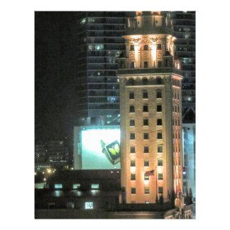 Cuban Freedom Tower in Miami 7 Letterhead