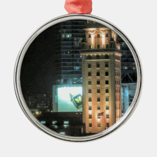 Cuban Freedom Tower in Miami 7 Metal Ornament