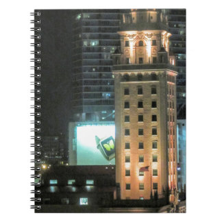 Cuban Freedom Tower in Miami 7 Spiral Notebook