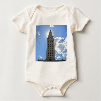 Cuban Freedom Tower in Miami Baby Bodysuit