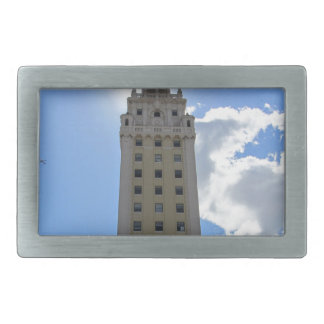Cuban Freedom Tower in Miami Belt Buckles