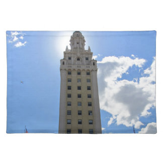 Cuban Freedom Tower in Miami Placemats