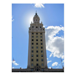 Cuban Freedom Tower in Miami Postcard