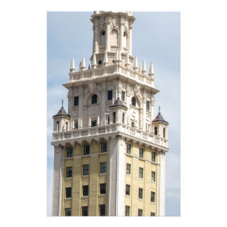 Cuban Freedom Tower in Miami Stationery