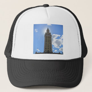 Cuban Freedom Tower in Miami Trucker Hat