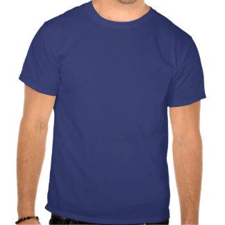 Cuban Girl Silhouette Flag Tee Shirt
