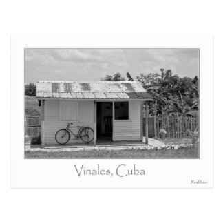 CUBAN HOME POSTCARD