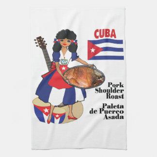 Cuban Kitchen towel- Paleta Kitchen Towel
