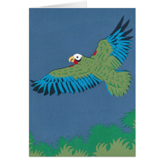 Cuban Parrot Card