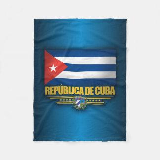Cuban Pride Fleece Blanket