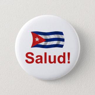 Cuban Salud! 2 Inch Round Button