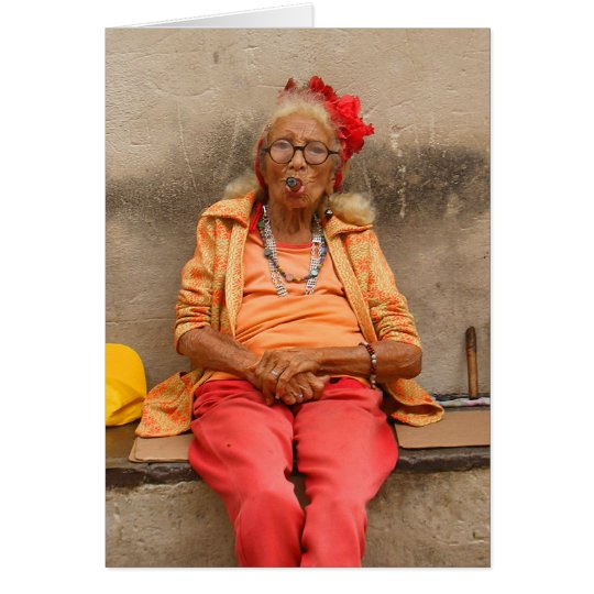 Cuban Senior Ladies Card