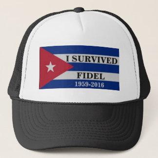 Cuban shirt trucker hat