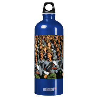 Cuban Women Water Bottle