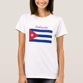Cubanita Cuban Flag T-Shirt
