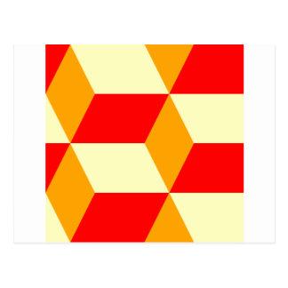 Cube Box Postcard