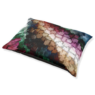 Cube Centric Dark Wind Pet Bed