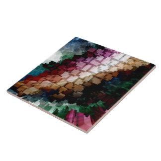 Cube Centric Dark Wind Tile
